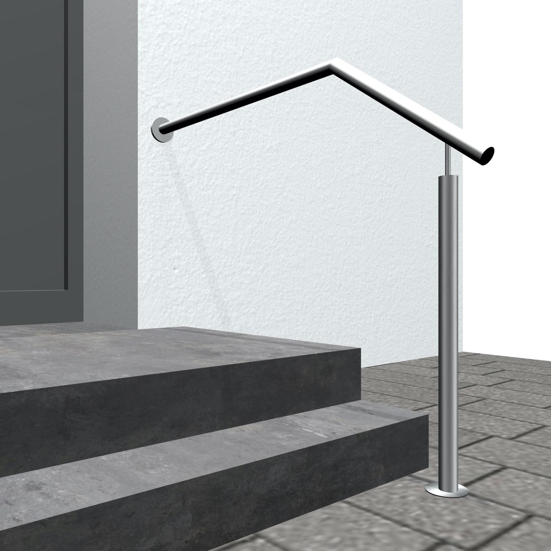 Treppenhandlauf Edelstahl SWT-CL