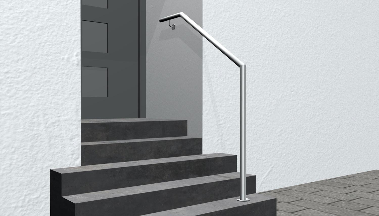 Treppenhandlauf Edelstahl AWTS