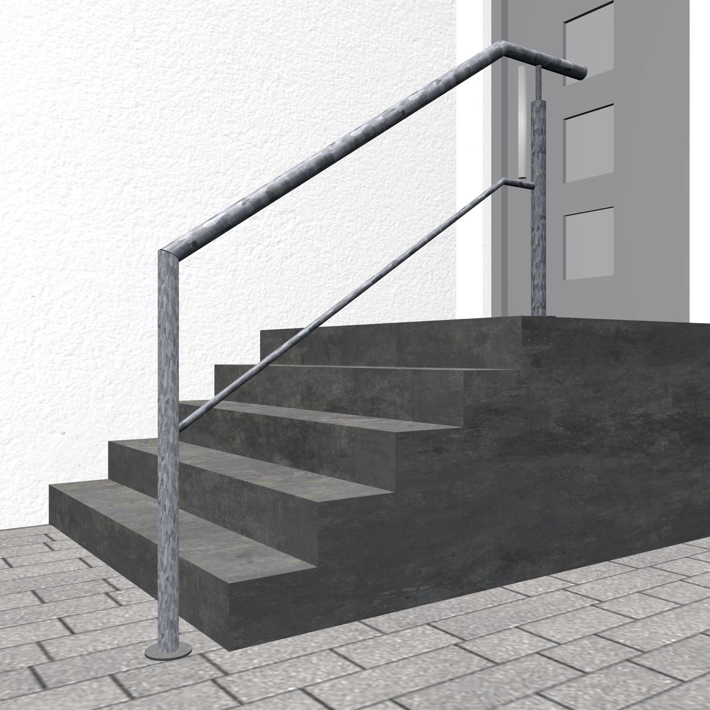Treppengeländer verzinkt  FAS 1-3 Querstreben