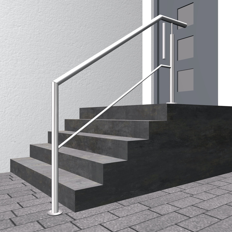 Treppengeländer Edelstahl FAS 1-6 Querstreben