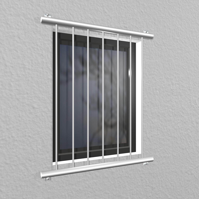 Fenstergitter Edelstahl Vertikalstab 2