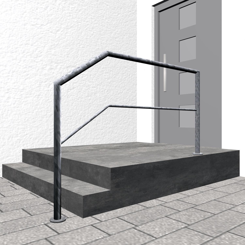 Treppengeländer verzinkt  FA-CL 1-3 Querstreben