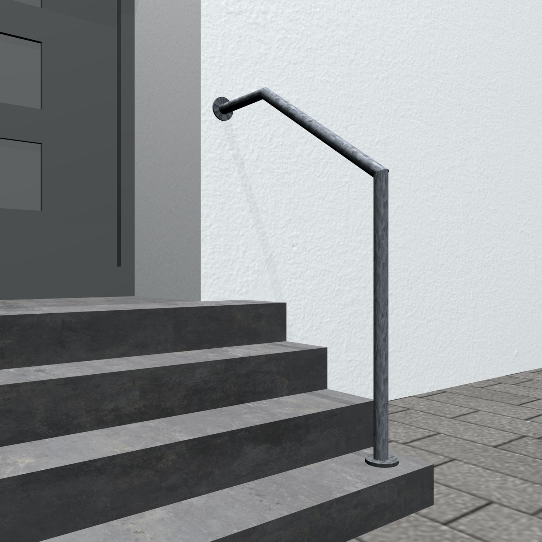 Treppenhandlauf verzinkt AWT