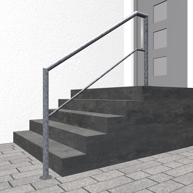 Treppengeländer verzinkt  FA 1-3 Querstreben