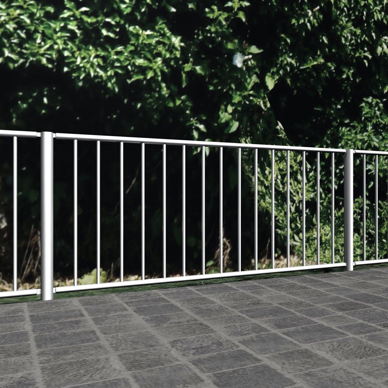 Gartenzaun Edelstahl Vertikalstab 2, GE