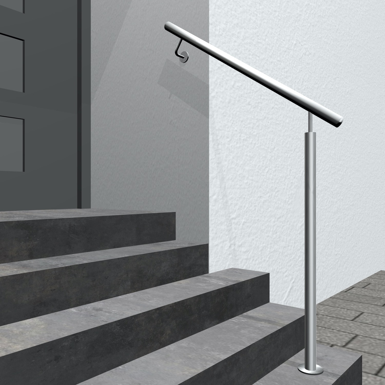 Treppenhandlauf Edelstahl GWTSS