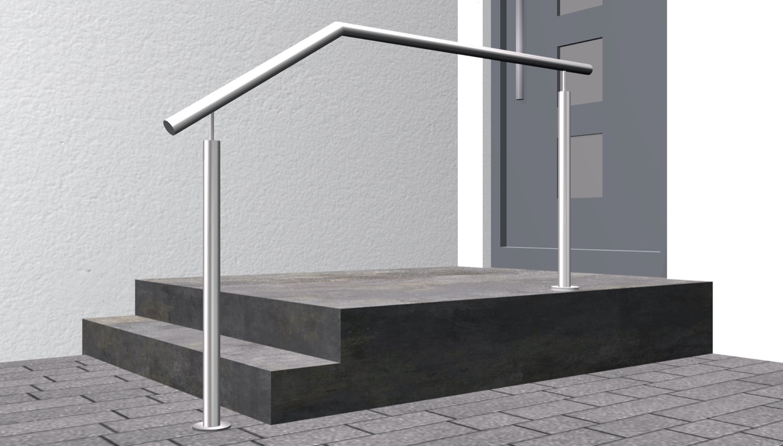 Treppenhandlauf Edelstahl FS-CL