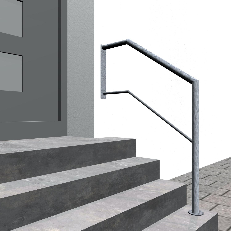 Treppengeländer verzinkt  WT 1-3 Querstreben