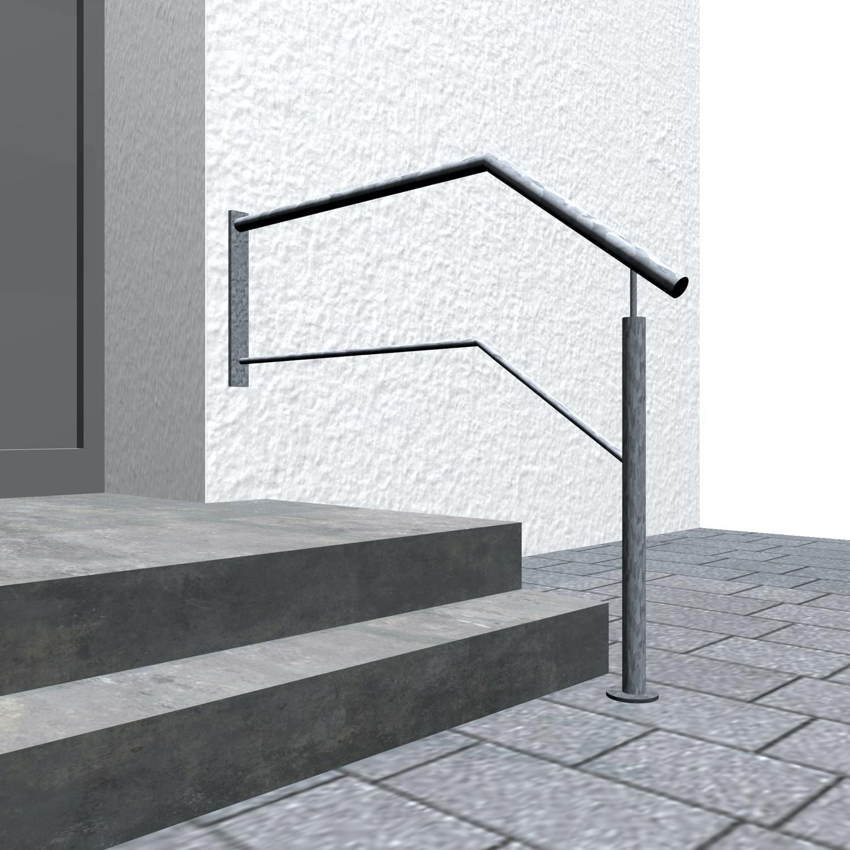 Treppengeländer verzinkt  WTS-CL 1-3 Querstreben