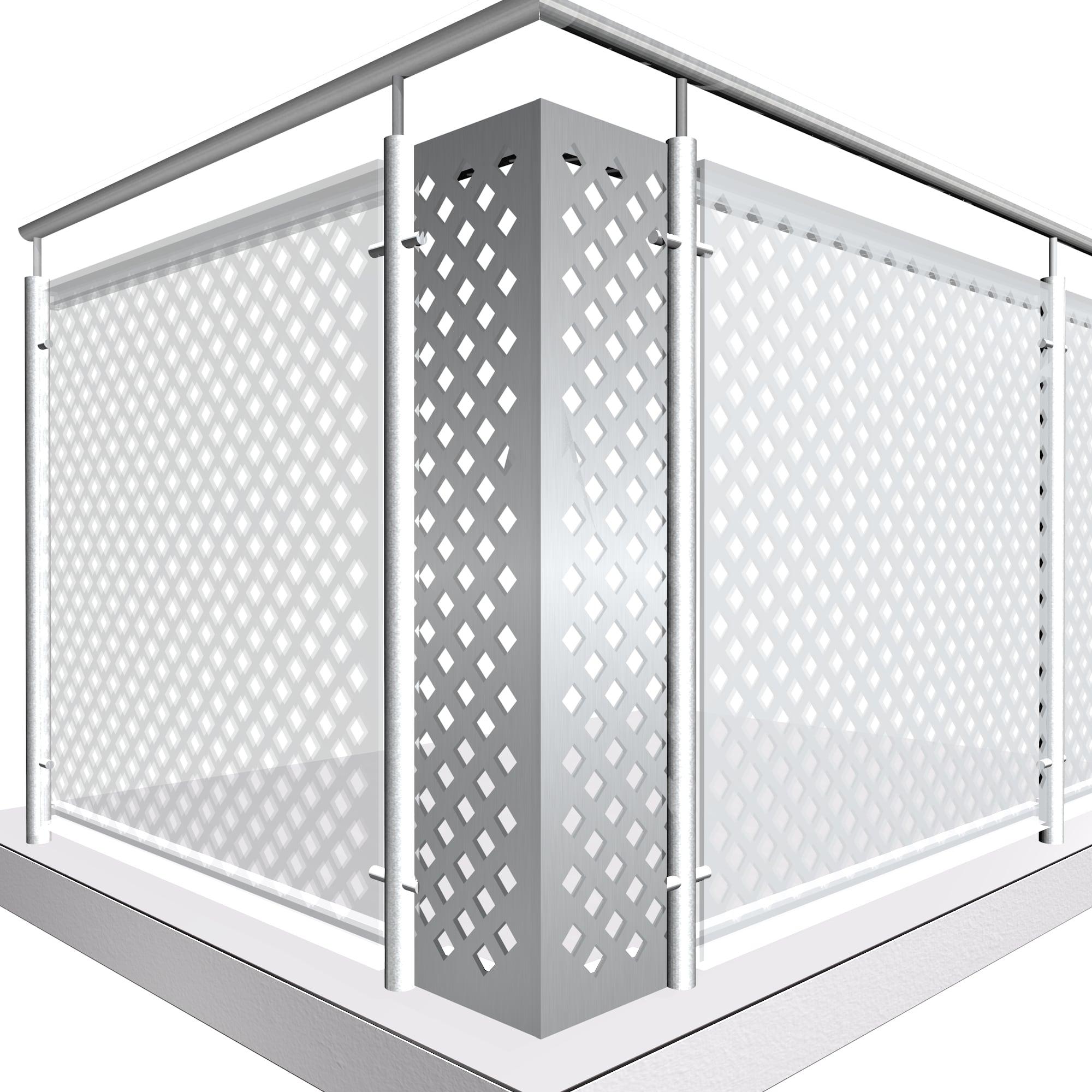 Eckelement Aluminium QL DI VE