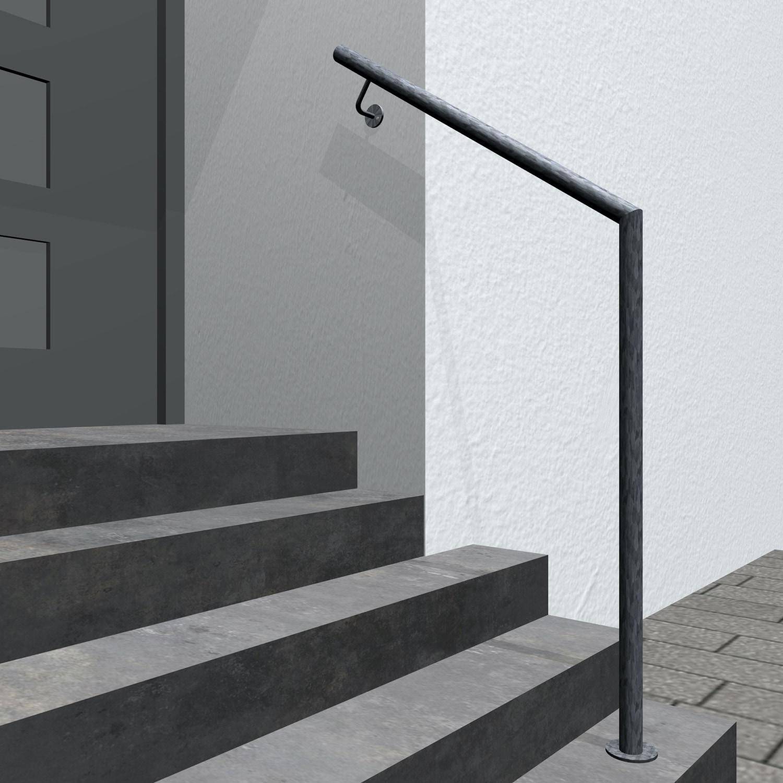 Treppenhandlauf verzinkt GWTS