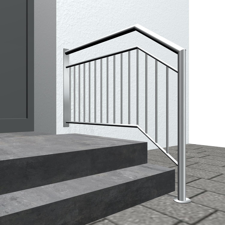 Treppengeländer Edelstahl WT-CL Stabfüllung