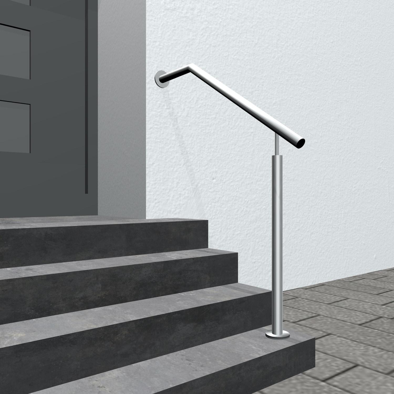 Treppenhandlauf Edelstahl SWT