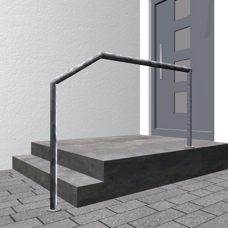 Treppenhandlauf verzinkt FA-CL
