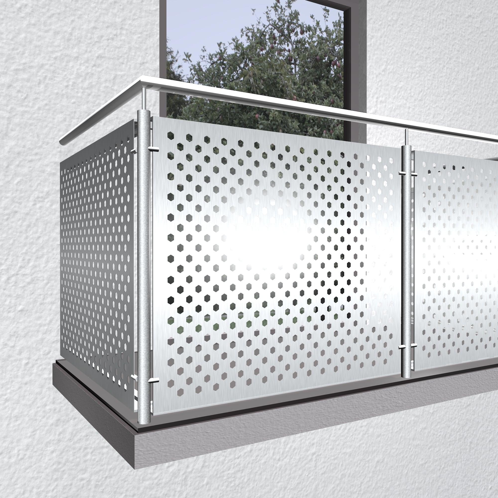 Balkonverkleidung Aluminium SK VE