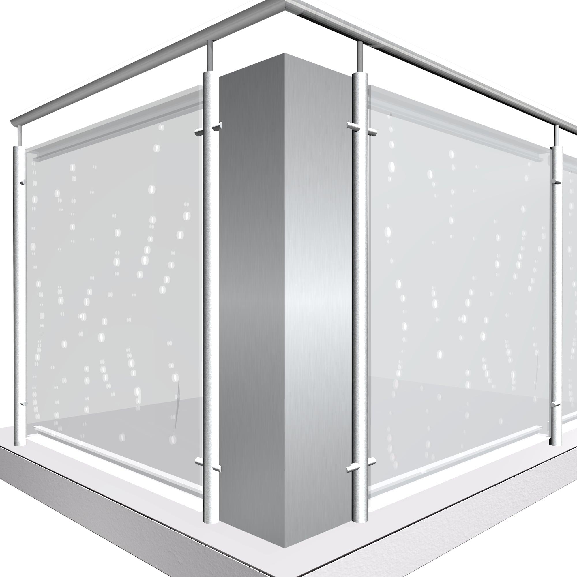 Eckelement Aluminium SB