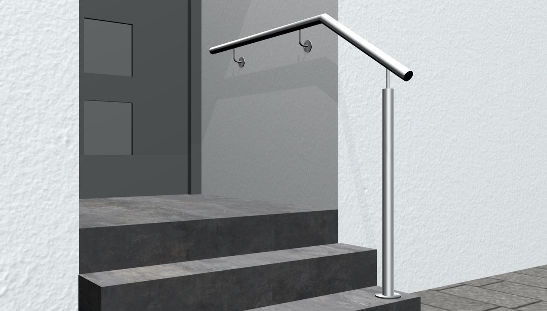 Treppenhandlauf Edelstahl WTSS-CL