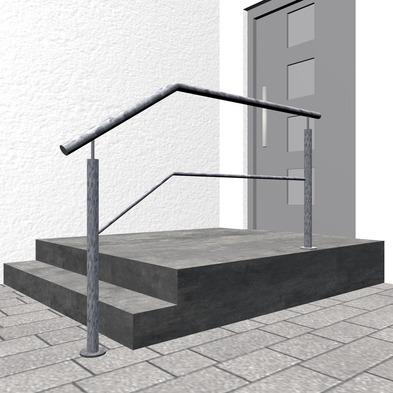 Treppengeländer verzinkt  FS-CL 1-3 Querstreben