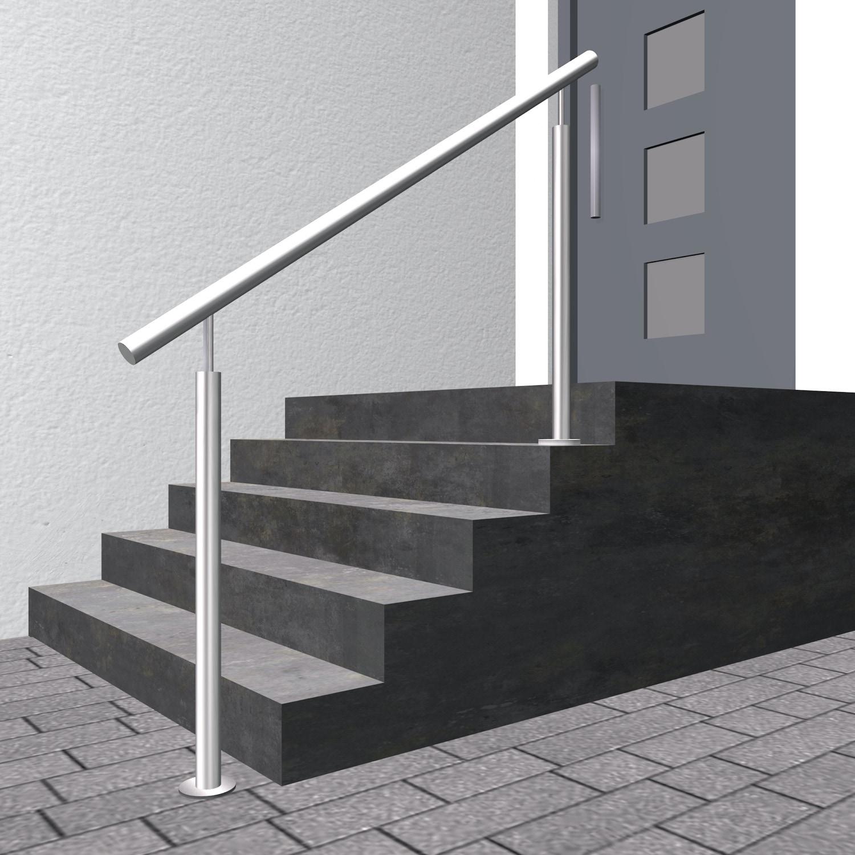 Treppenhandlauf Edelstahl FSG