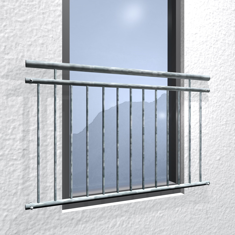 Französischer Balkon verzinkt Standard