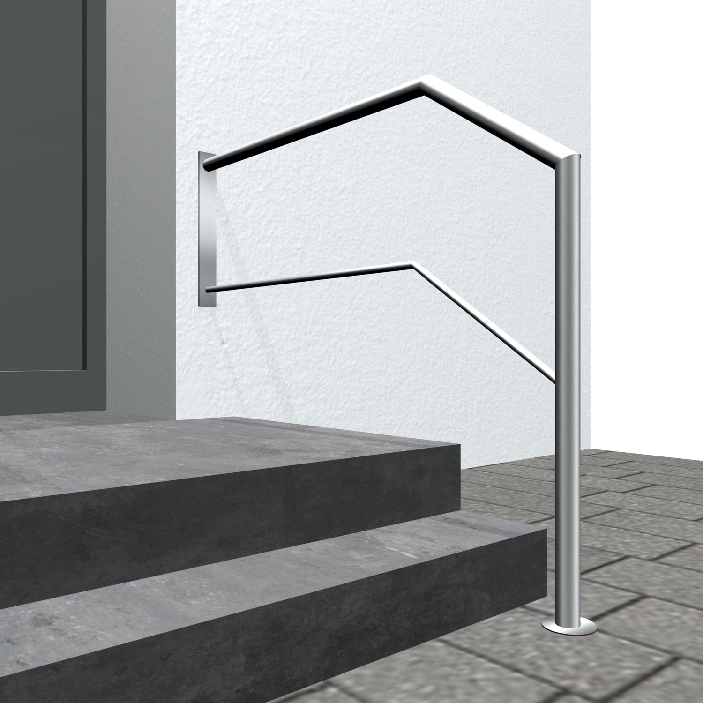 Treppengeländer Edelstahl WT-CL 1-6 Querstreben
