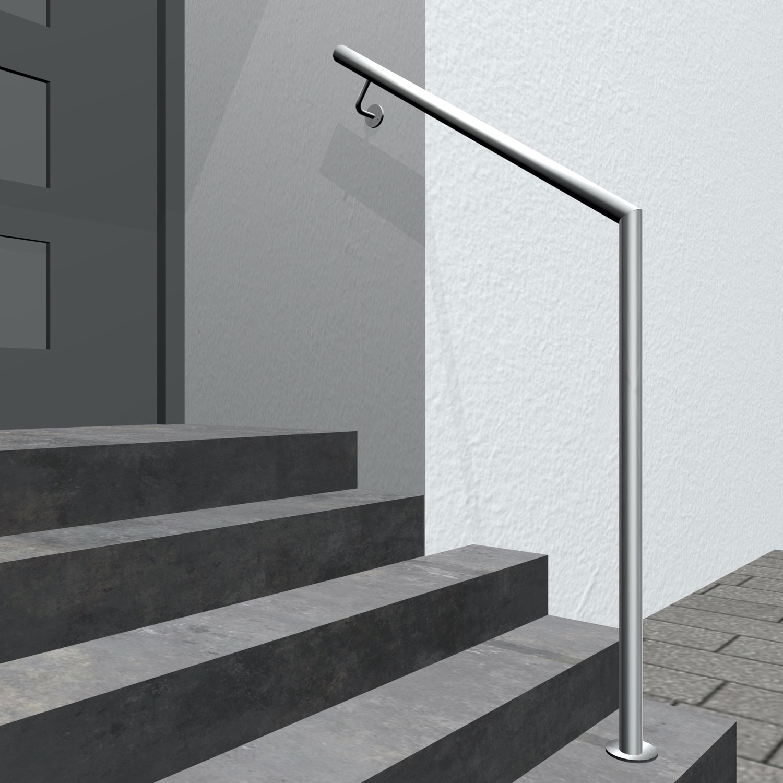 Treppenhandlauf Edelstahl GWTS