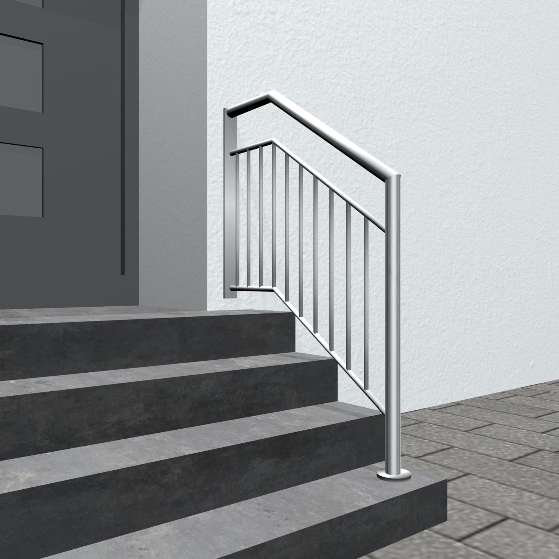 Treppengeländer Edelstahl WT Stabfüllung