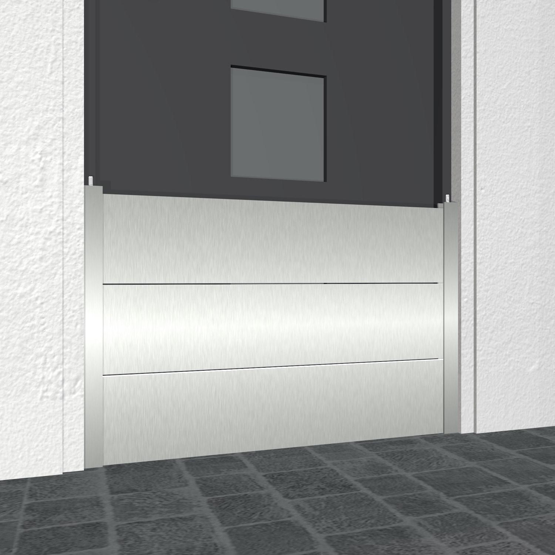 Mobiler Hochwasserschutz Aluminium für Türen