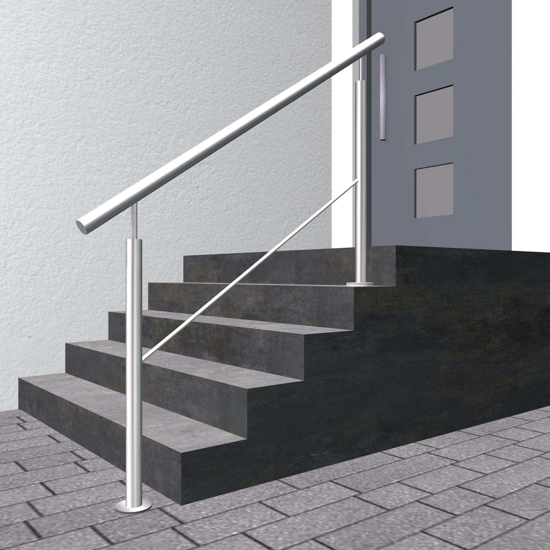 Treppengeländer Edelstahl FSG 1-6 Querstreben