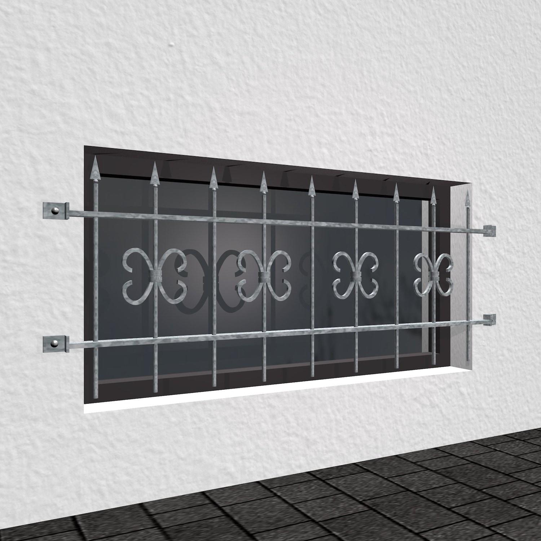 Kellerfenstergitter verzinkt Schwarzwald