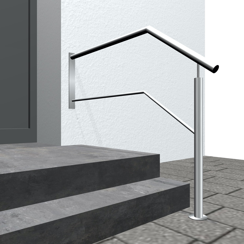 Treppengeländer Edelstahl WTS-CL 1-6 Querstreben