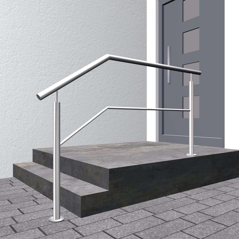 Treppengeländer Edelstahl FS-CL 1-6 Querstreben