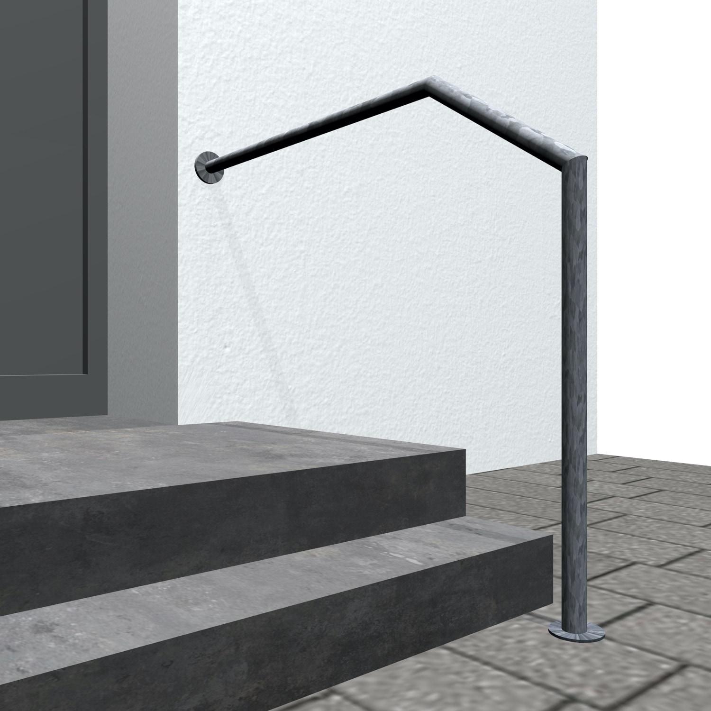 Treppenhandlauf verzinkt AWT-CL