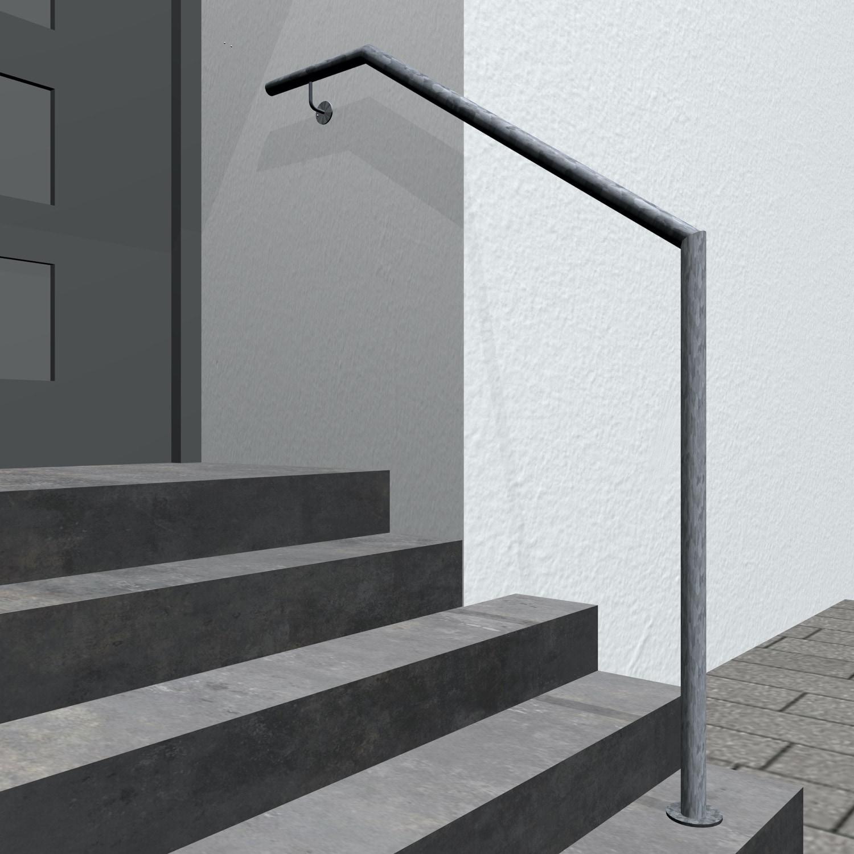 Treppenhandlauf verzinkt AWTS