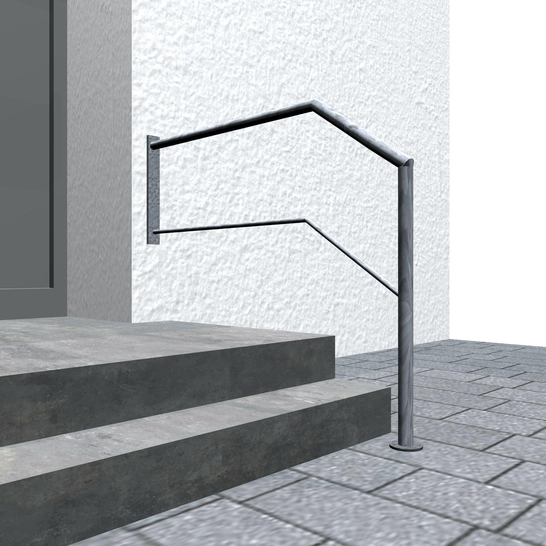 Treppengeländer verzinkt  WT-CL 1-3 Querstreben