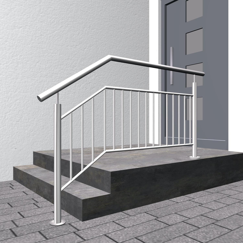 Treppengeländer Edelstahl FS-CL Stabfüllung