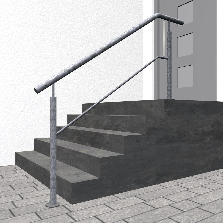 Treppengeländer verzinkt  FS 1-3 Querstreben