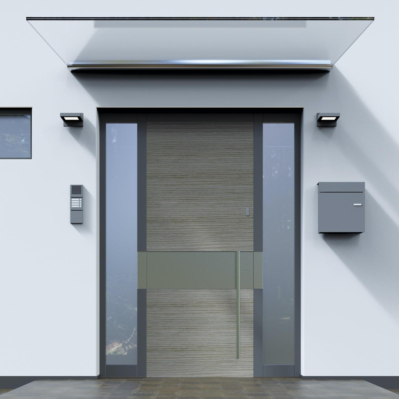 Vordach Aluminium SAN-MO