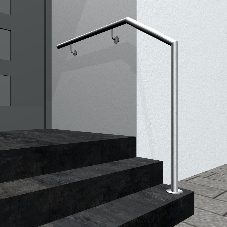Treppenhandlauf Edelstahl AWTS-CL