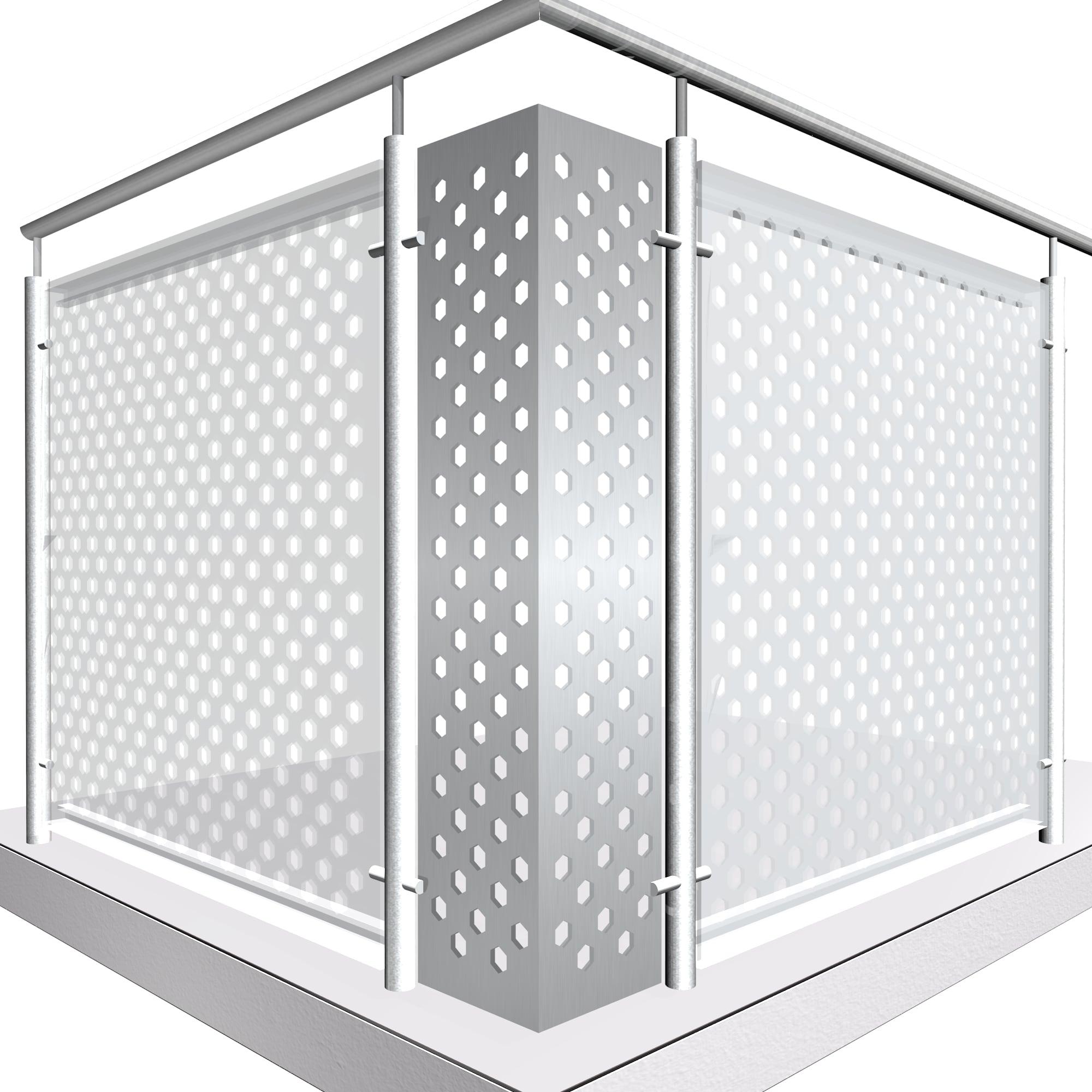 Eckelement Aluminium SK VE