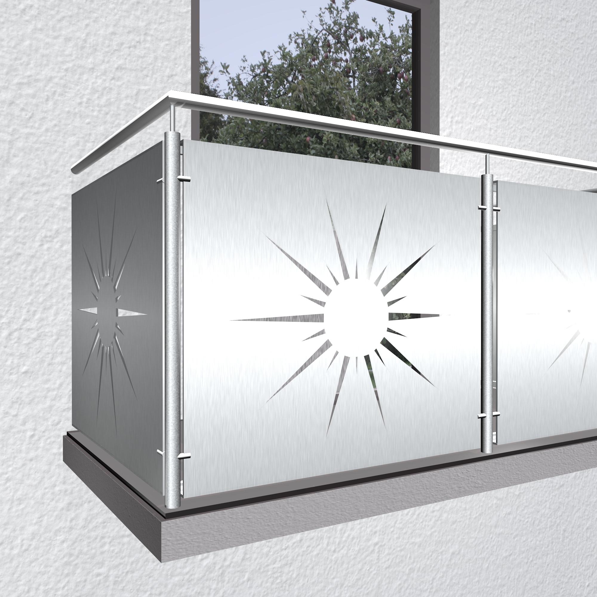 Balkonverkleidung Aluminium SO