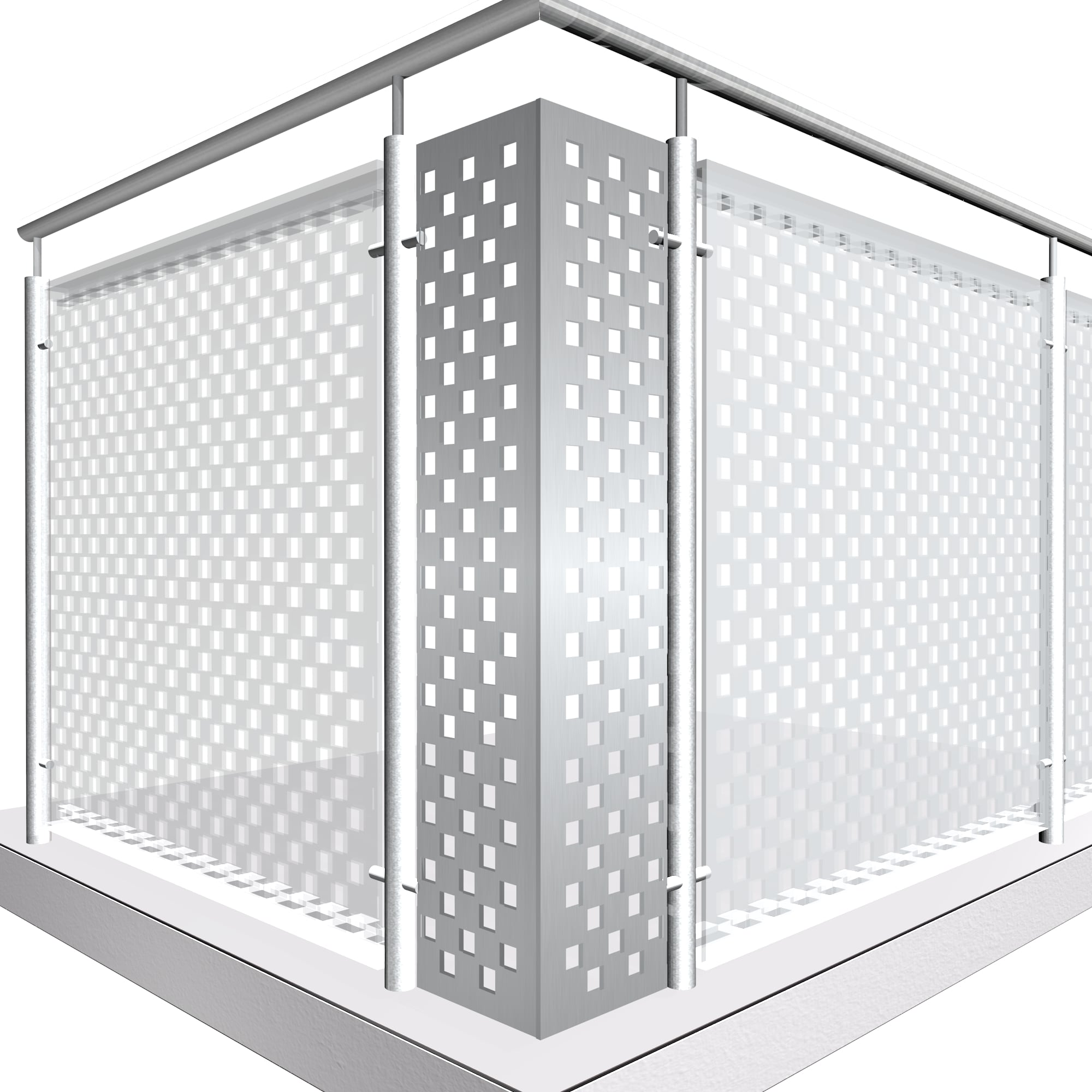 Eckelement Aluminium QL GE