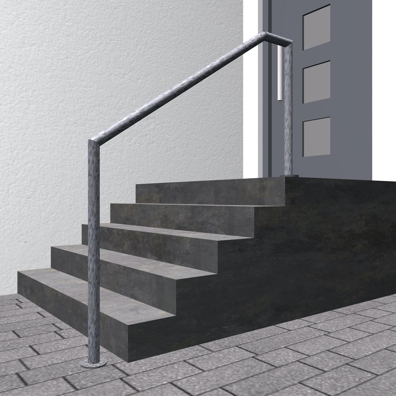Treppenhandlauf verzinkt FA