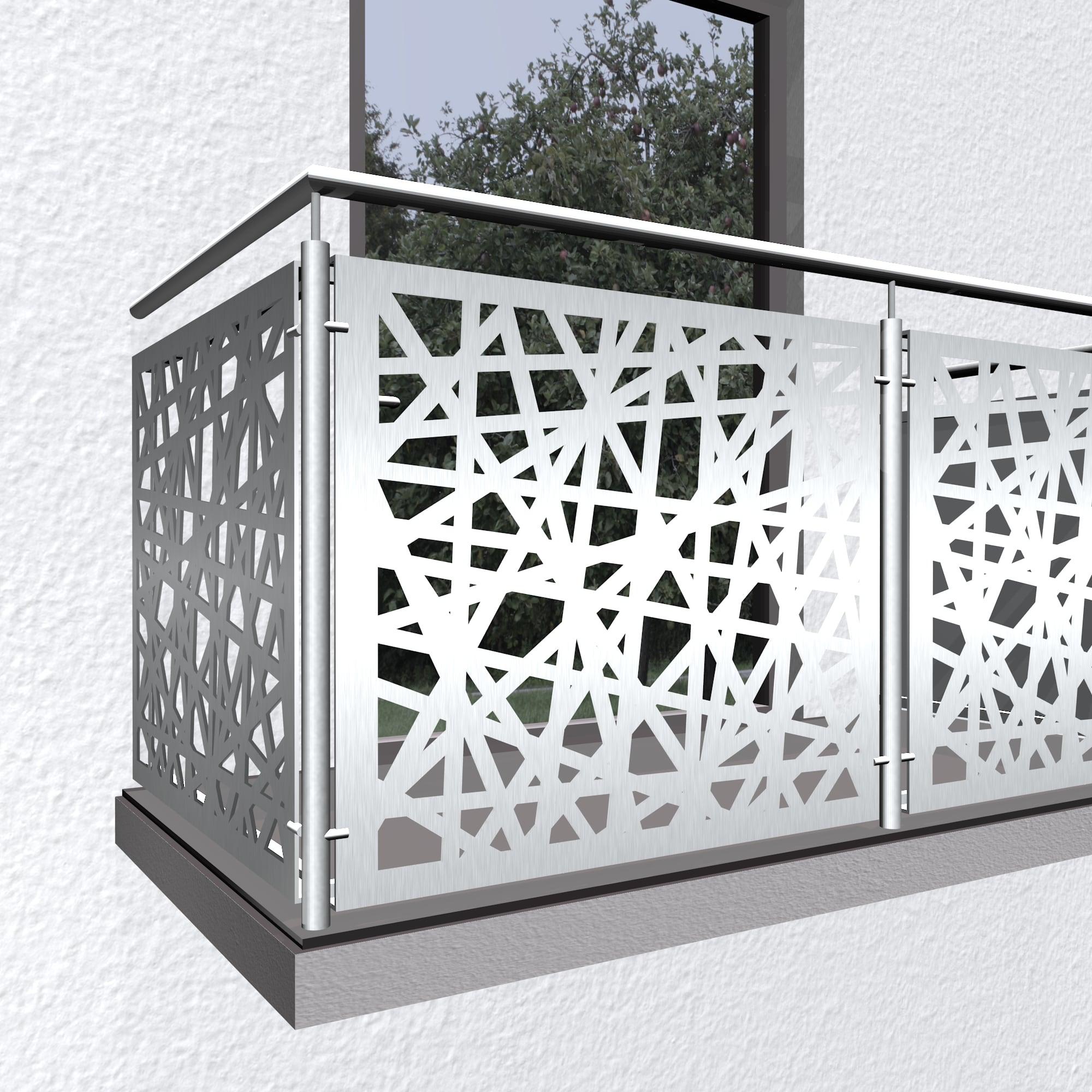 Balkonverkleidung Aluminium AB