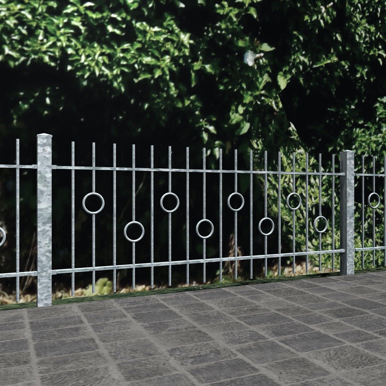 Gartenzaun verzinkt Kreis Stab, GE