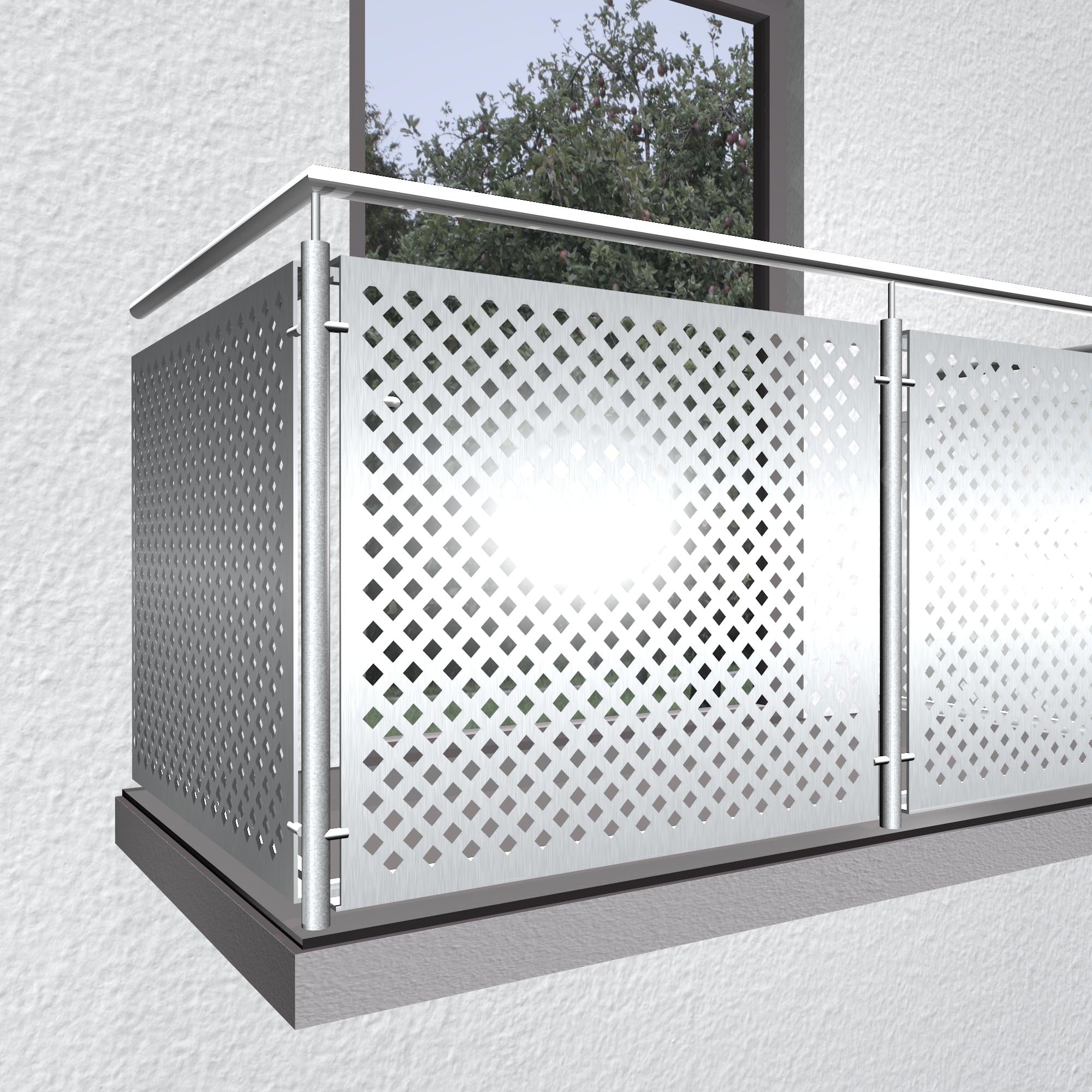 Balkonverkleidung Aluminium QL DI VE