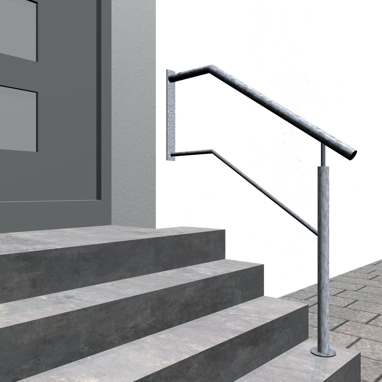 Treppengeländer verzinkt  WTS 1-3 Querstreben