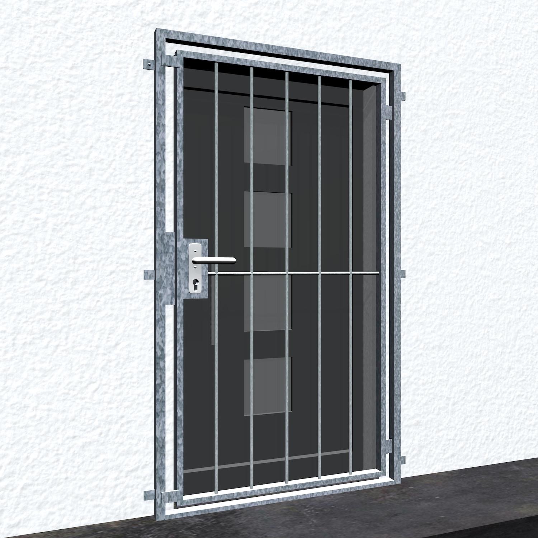Gittertür verzinkt Vertikalstab