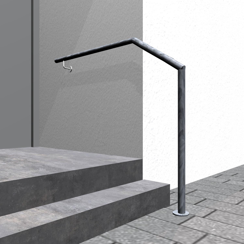 Treppenhandlauf verzinkt AWTS-CL