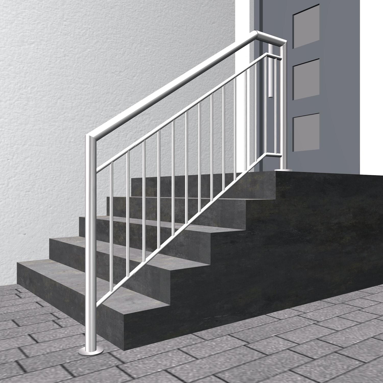 Treppengeländer Edelstahl FA Stabfüllung
